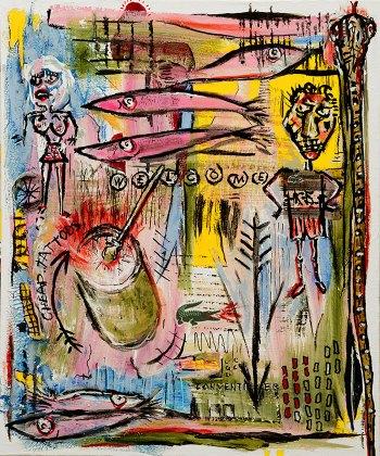 """Key Largo • acrylic on canvas w/ floating frame • 24"""" x 20"""" • $1,800"""