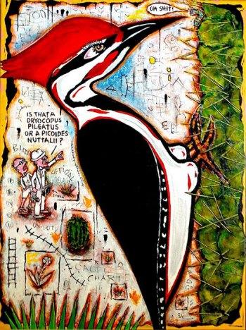 "Field Trip • acrylic on canvas • 40"" x 30"" • $3,900"