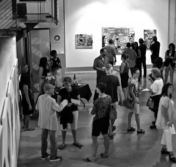 Phoenix Art Museum visits Fred's show