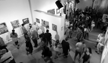 Fred's solo show at the MonOrchid