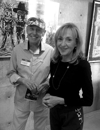Fred & Gail at Tieken Gallery event